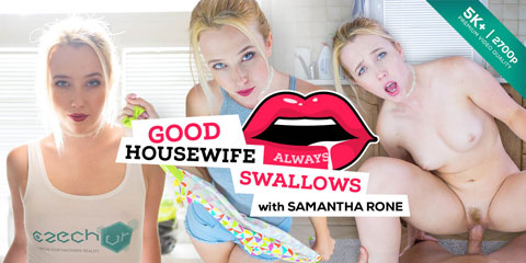 Czech VR #168 Good Housewife Always Swallows | Trailer for Oculus Rift VR