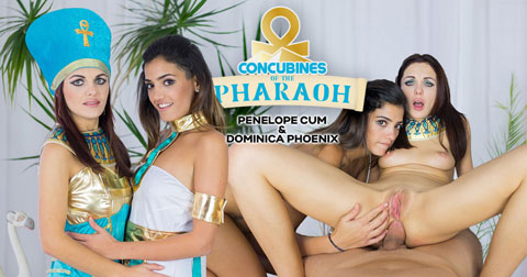 Czech VR #169 Concubines of the Pharaoh | Trailer for Oculus Rift VR